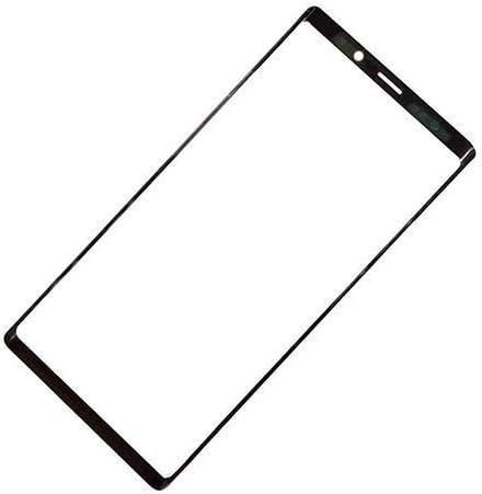Vidrio frontal para Samsung Galaxy Note 9 N960F N960 Negro