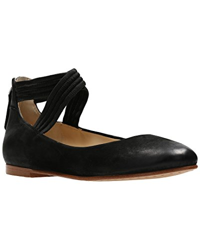CLARKS Womens Grace Anna Shoe, Size: 7 B(M) US, Color Black Nubuck