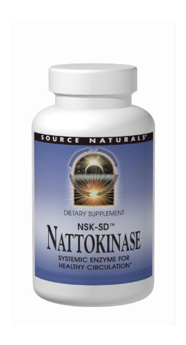 SOURCE NATURALS Nattokinase NSK-SD 33 Mg Soft Gel, 90 Count