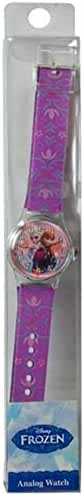 Disney Frozen Girls Trendy Fashion Analog Watch with Printed Band! Featuring Queen Elsa & Princess Anna!
