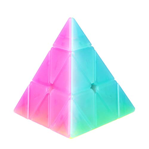 CuberSpeed QiYi Qiming Pyraminx Jelly Cube MoFangGe Qiming Pyraminx Jelly Speed Cube