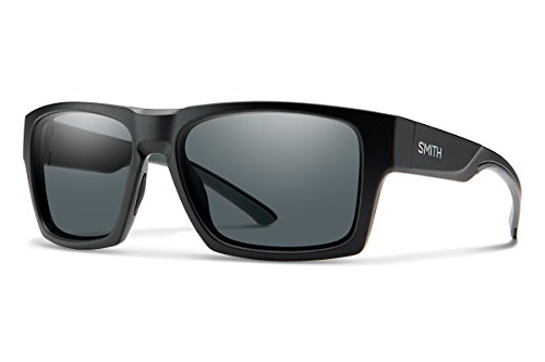 Smith Oversized Sunglasses - Smith Outlier XL 2 Carbonic Polarized Sunglasses, Matte Black