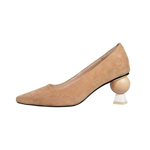 6 Chaussures Vaneel toe Sur Escarpins 5cm Vadxpt Beige Femme Fermé Glisser xBPwSIq