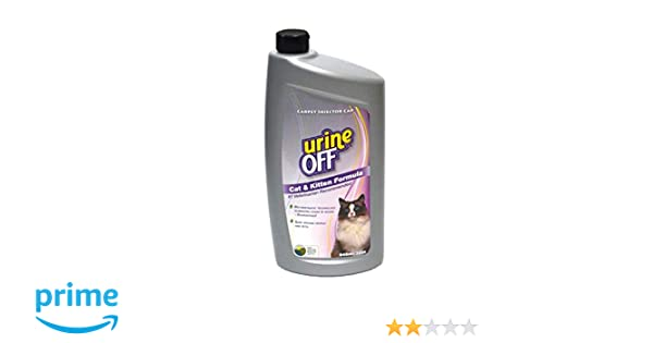 Amazon.com : urineOFF Cat & Kitten Stain and Odor Remover and Pheromone Blocker 32 Ounce Carpet Injector : Pet Odor And Stain Removers : Pet Supplies