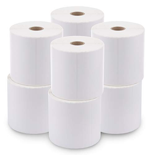 [8 Rolls / 3600 Labels] 4 x 6