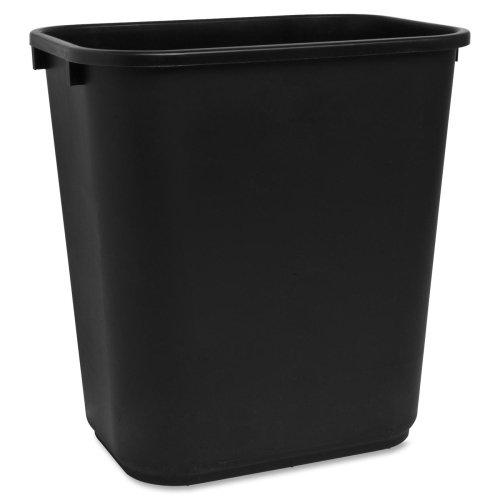 Rectangle Wastebasket, 28 Quart, 14-1/2