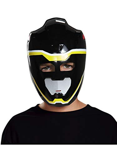 Disguise Black Ranger Dino Charge Vacuform Mask Costume (Charge Mask)