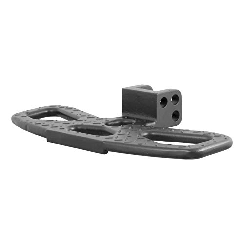 Fold Hitch Down Black Step (CURT 45909 Folding Hitch Step for Adjustable Channel Mount)