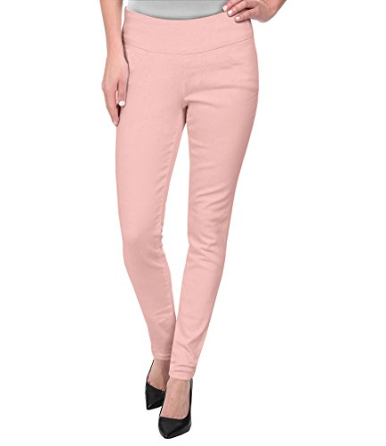 HyBrid & Company Super Comfy Stretch Pull On MILLENIUM Pants KP44972 Blush - Running Companies Clothing