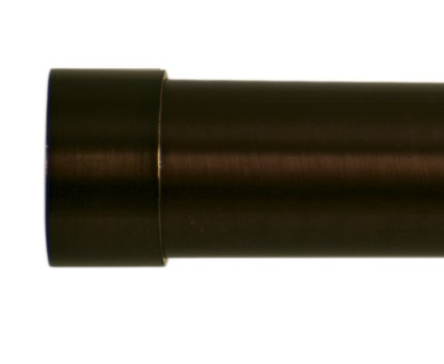 Home Decor Int'l HDI Plain End Caps, Oil Rubbed Bronze, Set of 2 by Home Decor Intl. (Image #1)