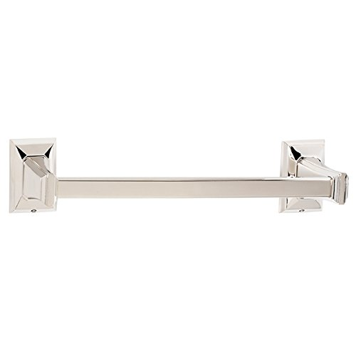 Alno A7920-30-PN Transitional Geometric Towel Bars, Polished Nickel durable modeling