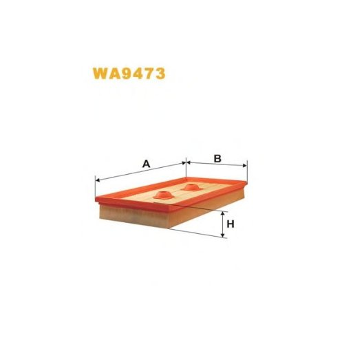 Wix Filter WA9473 Air Filter: