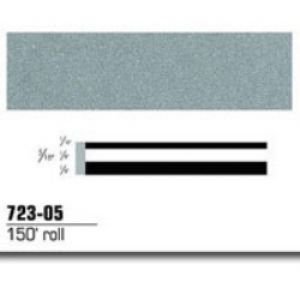 3M Scotchcal 72305 Vinyl Film Coated Double Striping Tape, 150' Length x 5/16