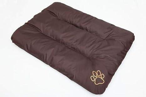 Hobbydog R3 ecobra7 Cama para Perros Eco Dormir Espacio Ruhe Espacio Perros Colchón Perro Cojín, 115 x 80 cm, XXL, Color marrón