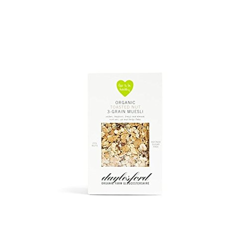 Daylesford Organic Toasted Nut 3-Grain Muesli 450G (Pack of 6)