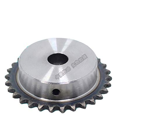 2PCS 02C 15 Teeth 8MM Steel Roller Chain Simplex Sprocket Pilot Bore for Industrial Machinery Transmission Equipment