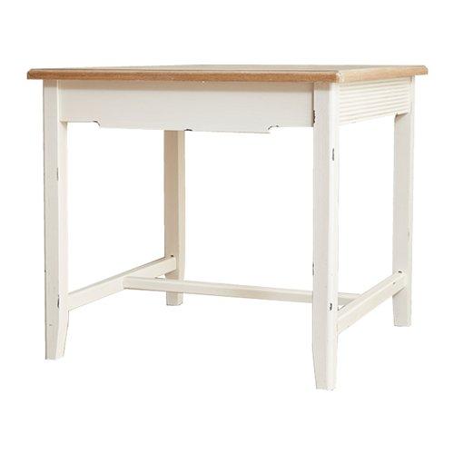 オフホワイト/Blossom ダイニングテーブル2人用ダイニングテーブル 2人用 単品 机 デスク テーブル ダイニングテーブル ハイテーブル B01DM0B4KOオフホワイト