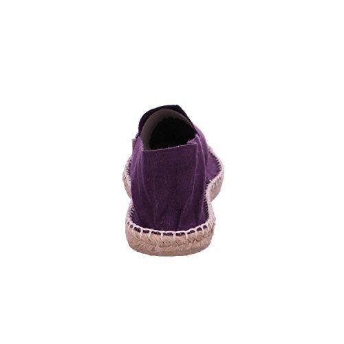 Espadrij LORIGINALE Womens Classic Cotton Espadrilles Violette Size EU 39 - US 8.5 dBbFY4JX