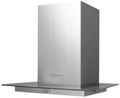 Candy CVM 670 LX - Campana (1000 m³/h, Canalizado/Recirculación, De pared, Acero inoxidable, Transparente, Vidrio, Acero inoxidable, 1,5 W): Amazon.es: Hogar