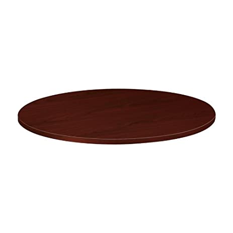 48u0026quot; Round Conference Table In Mahogany