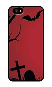 Custom Beyond The Grave Crystal Clear Enamel Hard Back Cover Case for iPhone 4/4s by mcsharks