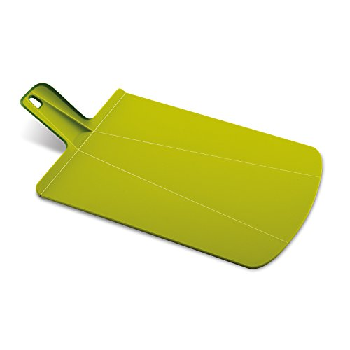 Joseph Joseph 60043 Chop2Pot Foldable Plastic Cutting Board 19-inch x 10.75-inch Chopping Board Kitchen Prep Mat with Non-Slip Feet 4-inch Handle Dishwasher Safe Lays Flat Folds Up, Large, Green (Folding Cutting Board compare prices)