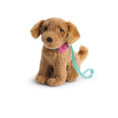 American Girl - Tenney Grant - Tenney's Golden Retriever, Waylan, for 18-inch Dolls - American Girl Tenney and Logan