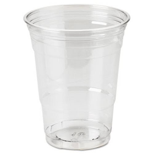 Dixie CP16DX Clear Plastic PETE Cups, Cold, 16oz, WiseSize, 25/Pack, 20 Packs/Carton