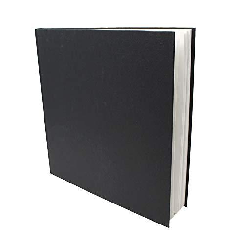 Artway Studio - Skizzenbücher mit festem Einband - 170 g m² Papier - Großhandelspackung - 195 mm (Quadrat-Format) - 24 Stück  Quadrat 285mm
