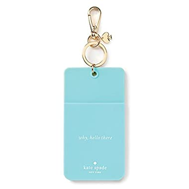 Kate Spade NY Why Hello There ID Clip Turquoise Colorblock