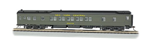 Bachmann Industries Nyc Mohawk Ho Scale 80' Pullman Car with Led Lighting