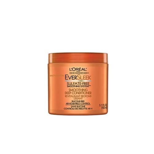 3 Pk, L'Oreal EverSleek Sulfate-Free Smoothing System™ Smoothing Deep Conditioner, 5.1 Fl. Oz