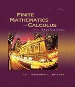 Finite Math& Calc W/Appl& Mathxl& Tutr CT Pk