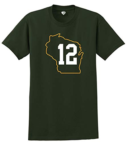 Football Players Number T-Shirt #12 Rodgers, L ()