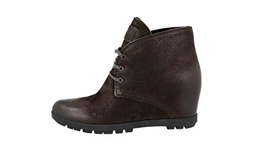En Prada nbsp;half Femme boot Cuir 3tz037 5Ow6Ox