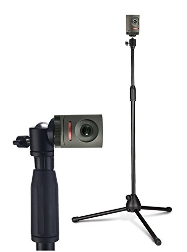 1.5M / 4.9ft Lightweight Tripod Stand Mount Holder with 1/4 Screw for Mevo Live Event Camera by Livestream(1st Generation Only)