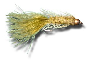 Conehead Woolly Bugger - Olive Fly Fishing Fly - Size 6 - 3 Pack