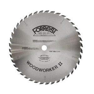 (Forrest WW10307125 Woodworker II 10-Inch, 30 Tooth, 5/8-Inch Arbor, 1/8-Inch Kerf Circular Saw Blade)
