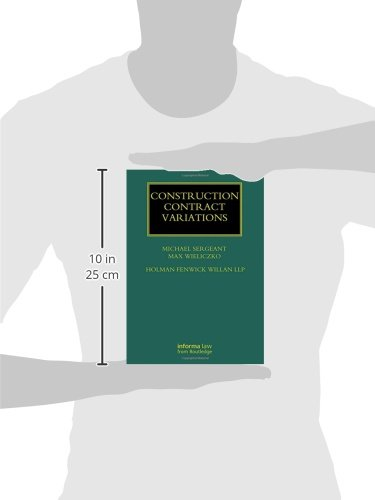 Construction Contract Variations (Construction Practice Series)