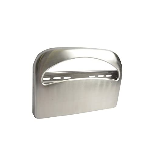 85%OFF Heavy Duty Toilet Seat Cover Dispenser, 1/2-fold, Stainless Steel #2511
