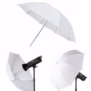 Photography & Camera Acc Flashes & Accessories - 43 inch Photography Video Studio Diffuser Translucent Flash Soft Umbrella White Reflector