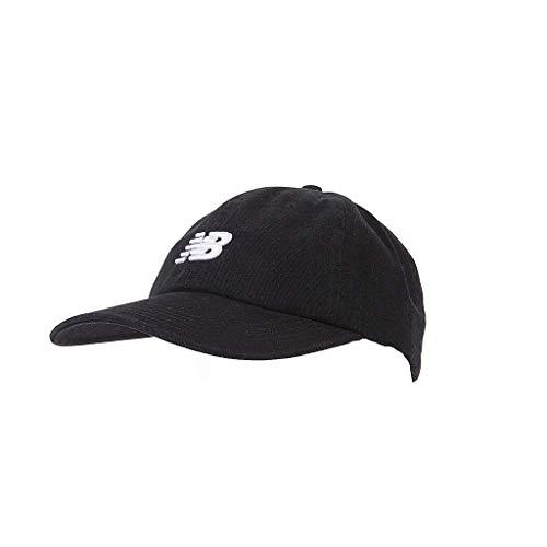 New Balance 6-Panel Curved Brim NB Logo Classic Hat Black]()