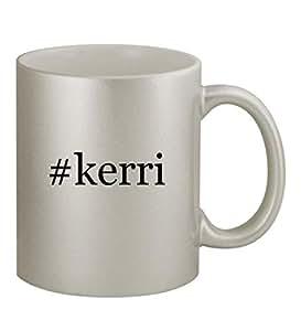 #kerri - Funny Hashtag 11oz Silver Coffee Mug Cup