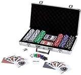 Maxam 309pc Poker Chip Set in Aluminum Case