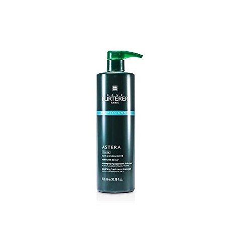 Rene Furterer ASTERA FRESH Soothing Freshness Shampoo,  Irritated & Itchy Scalp, Peppermint, Eucalyptus, Pump, 20.2 oz. (Rene Furterer Modeling Paste)