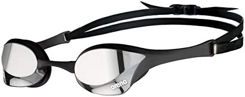 Arena Cobra Ultra Competitive Swim Goggles for racing with Swipe Anti-Fog Technology