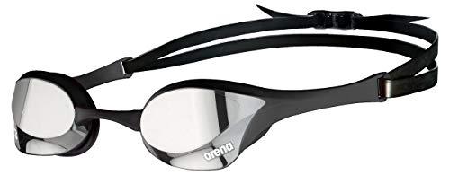 ARENA Gafas Cobra Ultra Swipe Mirror Natación, Unisex niños, Silver/Black, Talla Única