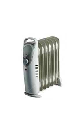 Ardes 470 Gris 600W Radiador - Calefactor (Radiador, Aceite, Piso, Gris,