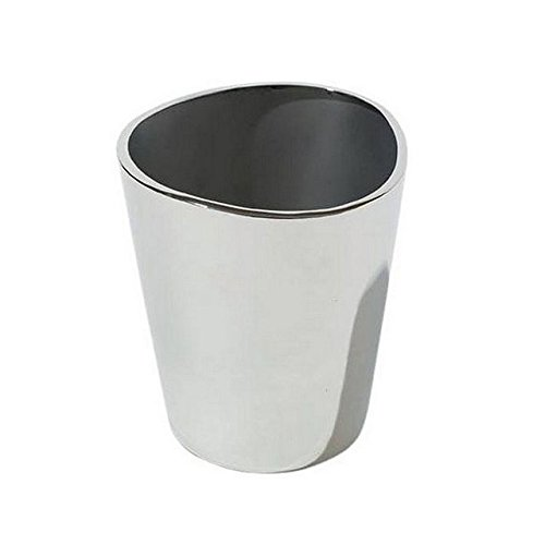 Designer Ice Bucket by Alessi Italy. Designed by Jasper Morrison. Stainless Steel Mirror Polished. Made in Italy. Italian Ice Bucket - Great Housewarming Gift.