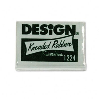 Sanford® Design® Kneaded Rubber Art Eraser ERASER,KNEADED RUBR,LARGE (Pack of100) by SANFRD (Image #1)